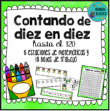Skip counting by 10's in Spanish