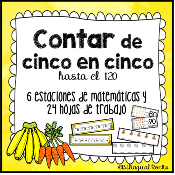 Skip counting by 5's in Spanish