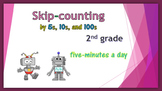 Skip-counting - by 5s, 10s, and 100s