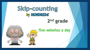 Skip-counting by HUNDREDS