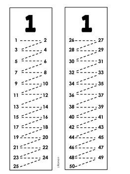 Skip counting/Contando