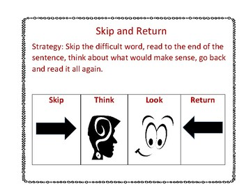 Skip the Tricky Word and then Return