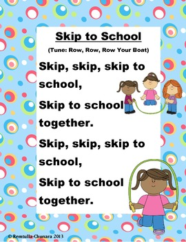 Skip to School Poem