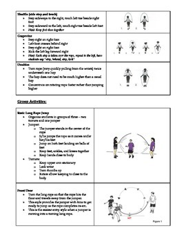 Skipping: A Teacher's Reference Sheet