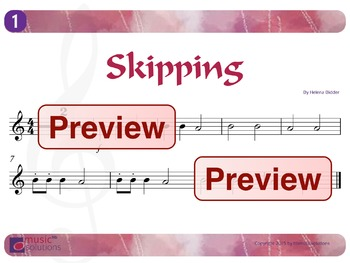 Skipping Flute And Oboe mp3s and pdf Unit 1.