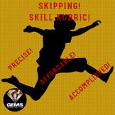 PE Rubric Skipping Skill Assessment Rubric!