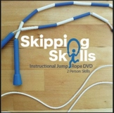 Skipping Skills Instructional Jump Rope DVD Two Person Skills