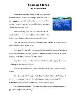 Skipping Stones Story