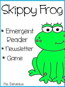 Skippy Frog Emergent Reader