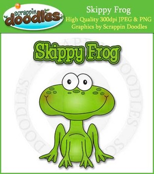 Skippy Frog Reading Strategy