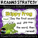 Skippy Frog Reading Strategy: Lesson Plan, Center, PowerPoint: CC Aligned!