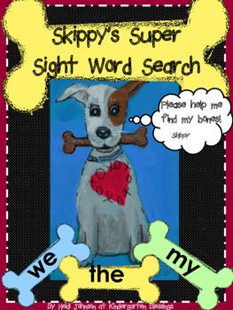 Skippy's Super Sight Word Search