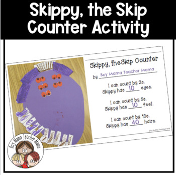Skippy, the Skip Counter: A Math Craft for Skip Counting