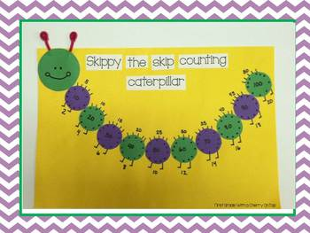 Skippy the Skip Counting Caterpillar