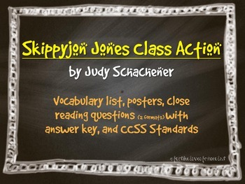 Skippyjon Jones Class Action Activity Pack