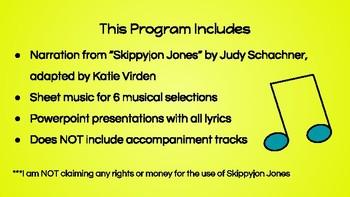 Skippyjon Jones Music Program