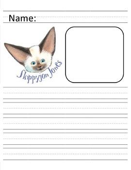 Skippyjon Jones Primary Writing Paper