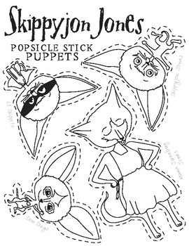 Skippyjon Jones Puppets