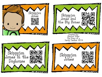 Skippyjon Jones QR Readers for Listen to Reading
