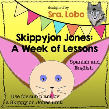 Skippyjon Jones: Unit Study or Sub Plans