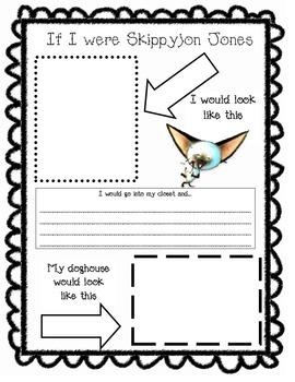 Skippyjon jones worksheet by cuckoo 4 kinder teachers for Skippyjon jones coloring pages