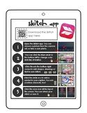 Skitch app direction sheet