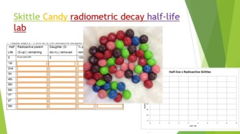 Radioactive dating lab with m&ms in bulk