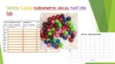 Skittle Candy radiometric decay half-life Lab