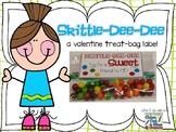 Skittle Dee Dee - A Valentine Treat-Bag Label