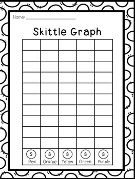 Skittle Graph Freebie