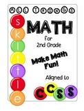 Skittle Math CCSS 2nd Grade