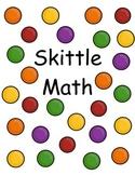 Skittle Math - Sorting & Addition
