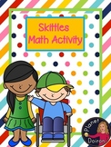 #freebiefriday Skittle Math fractions, number line, ordering numbers, measuring