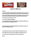 Skittle Vs. M&M lab