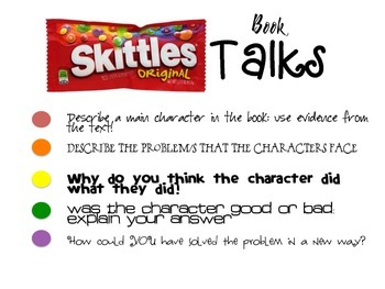 Skittles Book Talks Bundled Pack: Non-fiction, Fiction &Literature, and Poetry