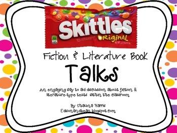 Skittles Book Talks Fiction & Literature Pack