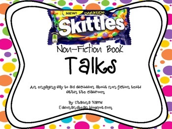 Skittles Book Talks for Non-Fiction