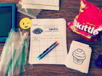 Skittles Cupcake Math