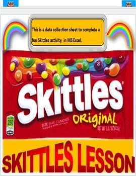 Skittles Data Worksheets & Teaching Resources | Teachers Pay