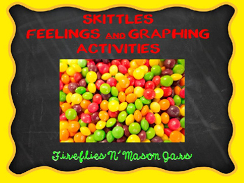 Skittles: Feelings and Graphing Activities