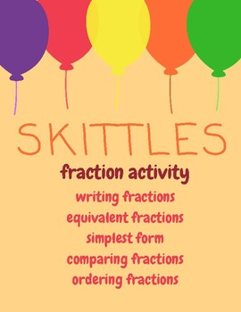 Skittles Fraction Activity