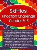Skittles Fraction Challenge Grades 4-5