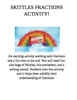 Skittles Fractions!