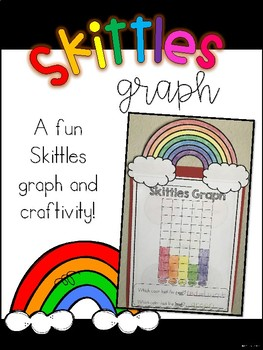 Skittles Graph and Craftivity