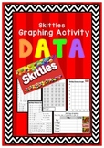 Skittles Graphing Activity: Data