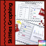 Skittles Graphing-Bar Graph, Line Plot, Picture Graph