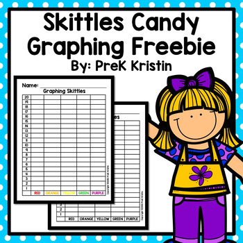 Skittles Graphing Freebie