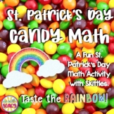 Skittles Math (A Fun St. Patrick's Day Math Activity with