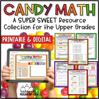 skittles math halloween math by teaching with a mountain view tpt. Black Bedroom Furniture Sets. Home Design Ideas