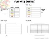Skittles Math - Various activities